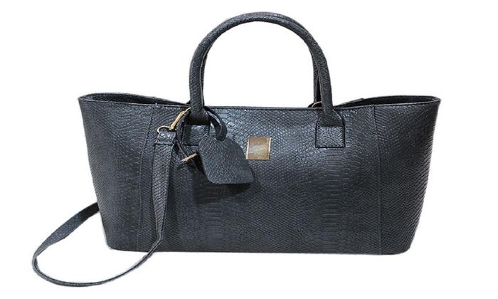 Women Shoulder Bag Handbag Totes Original Design PU Big Capacity Solid