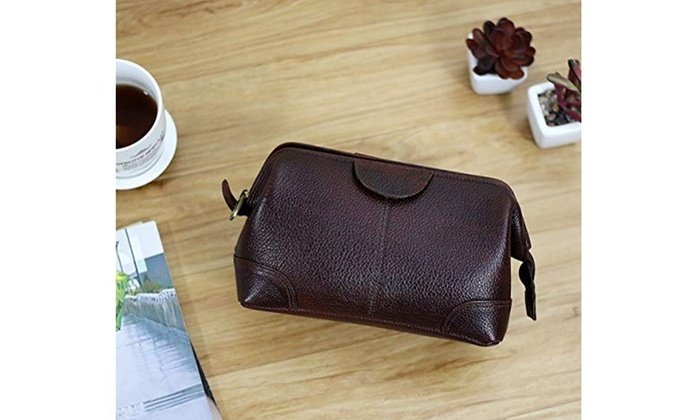 4e700e773118 Up To 38% Off on Travel Organiser Brown Toilet... | Groupon Goods