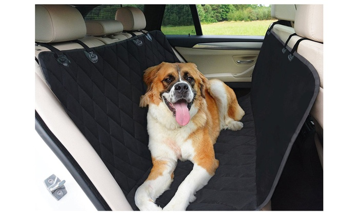 premium quality waterproof pet car back seat hammock cover protector premium quality waterproof pet car back seat hammock cover      rh   groupon