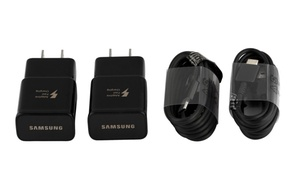 2 Samsung Fast Charger with 2 USB-C Type-C S8 and S8 plus  at Accipio Technologies , plus 6.0% Cash Back from Ebates.