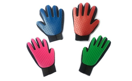Pet Grooming Glove Gentle Deshedding Brush Glove Massage Tool cc32b93c-8f3b-4cfc-8f30-406a0bca3e22