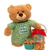 Gift Basket Get Well Soon Teddy Bear and Cookie Pail