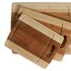 CC Boards 3-Piece Bamboo Cutting Board Set: Wooden butcher block board