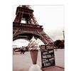 Kathy Yates 'Eiffel Tower with Ice Cream Cone 2' Canvas Art