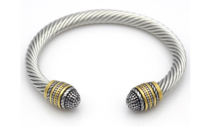 Off On 18k White And Yellow Gold Ove
