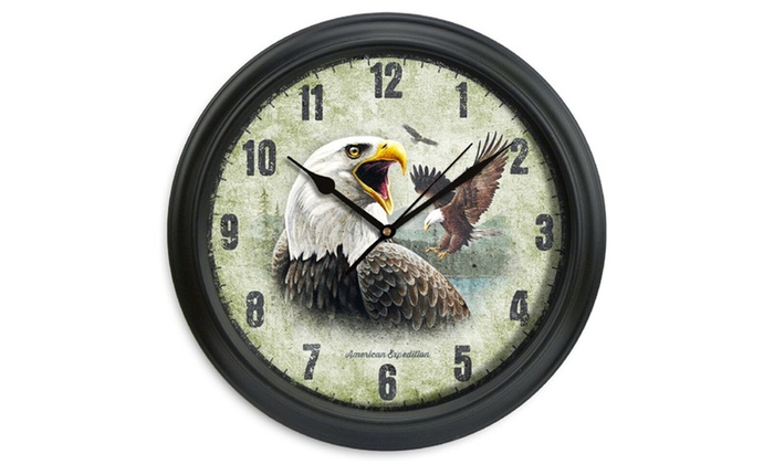 American Expedition 11 5in Diameter Clock Groupon