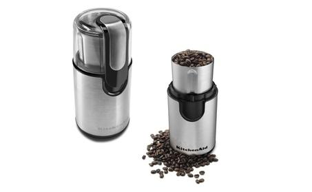 KitchenAid BCG111 Blade Coffee Grinder (Certified Refurbished) photo