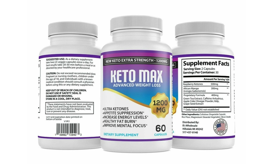 Up To 48 Off On Burn Fat Carb Blocker Keto Groupon Goods
