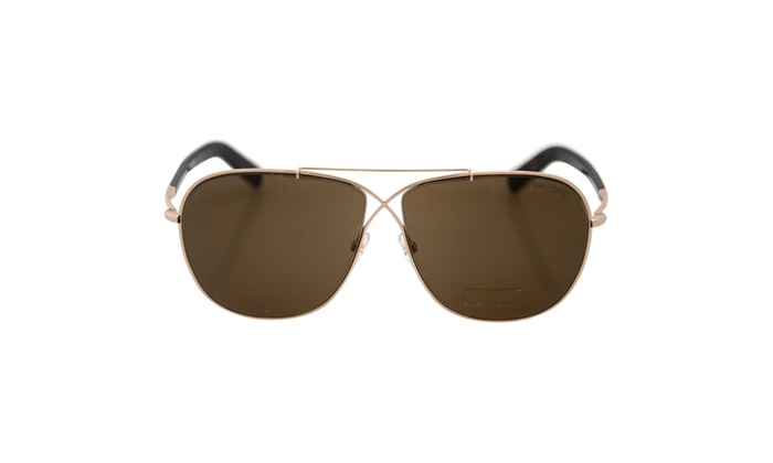 Rose Gold/Roviex by Tom Ford for Men - 61-10-145 mm Sunglasses