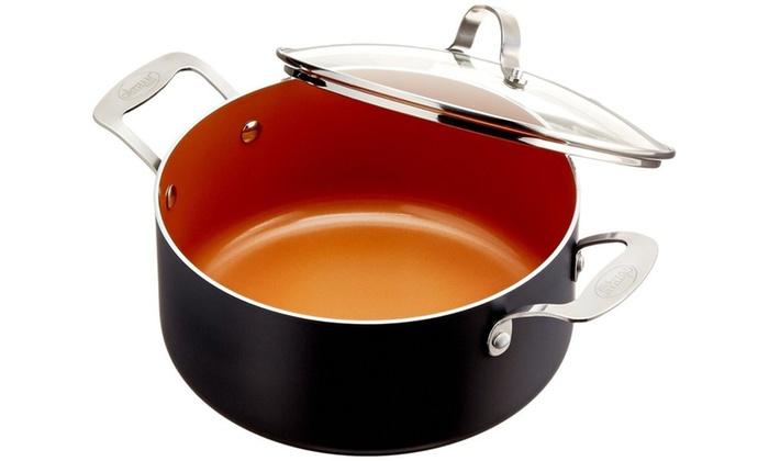 Gotham Steel All In One Copper Non Stick Cookware Set 15