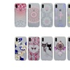 Clear Soft Silicone Back Pattern Cover for iPhone X