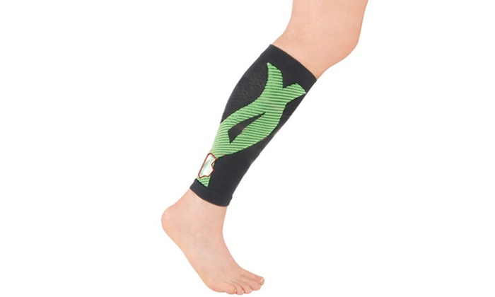 bfbee737f8 Premium New Instant Shin Splint Support Calf Compression Sleeve for Men &  Women
