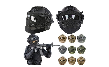 Protective Goggles G4 System Full Face Mask Helmet Airsoft Paintball f7fcb297-7368-4879-8aaf-3803a733487b