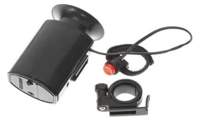 Bike Bicycle Cylcing MTB 6 Sound Electronic Siren Horn Bell Ring Alarm Speaker