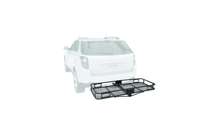 Pro Series 63153 Rambler Hitch Cargo Carrier for 2 Receivers