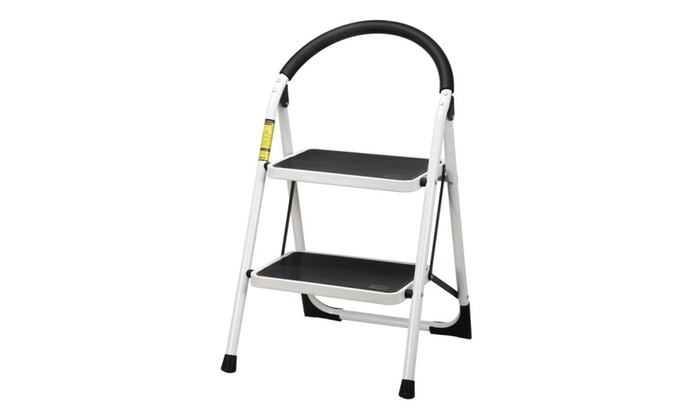 Superb Ollieroo Ladder En131 Steel Folding 2 Step Stool Handle Anti Pabps2019 Chair Design Images Pabps2019Com