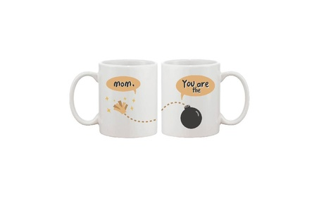 Mom You Are The Bomb Cute Ceramic Mugs Mother's Day Gift For Mommy af7bf322-8822-4f32-a278-2a4773299194