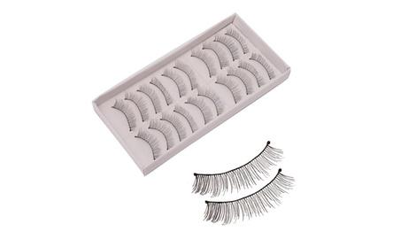 10 Pairs Natural Handmade False Eyelashes 8aadaea3-3bd1-4af1-9da4-fdc17f5022d5