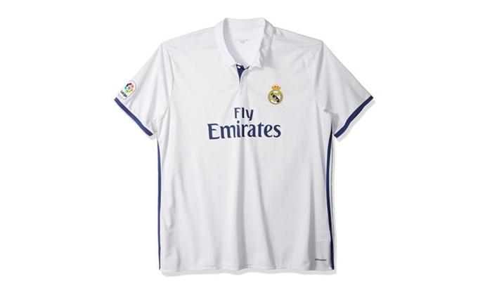 best service 2b536 669cf International Soccer Mens Jersey Real Madrid White/Purple
