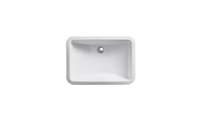 KOHLER K 2214 0 Ladena Undercounter Bathroom Sink, White ...
