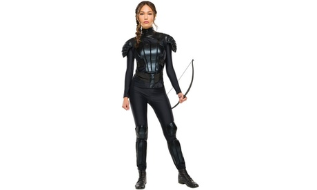 The Hunger Games: Mockingjay Part 2 Deluxe Womens Katniss Costume 1bce10a7-db48-4c0f-adb5-445741352c41