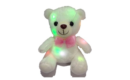 LED Light Up Glow Teddy Bear Plush Stuffed Doll Toy Kids Birthday Gift b0266d49-9866-4513-b613-05c96b001679