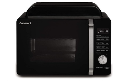 Cuisinart 3 Appliances-in-1 Microwave Air Fryer Toaster Oven AMW-60 photo