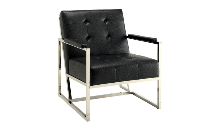 Cleeton Leatherette Arm Chair Groupon