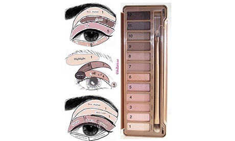 QPower 2 Colors In Mid-Tone Hues Of Rose Nude Eyeshadow Palette 3e6eae26-c022-4f5b-ab5b-3895570a4349