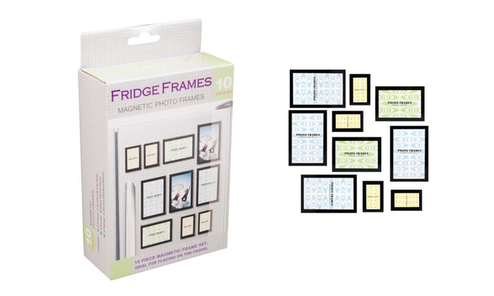 Up To 62% Off on 10 Pieces Modern Design Fridg... | Groupon Goods