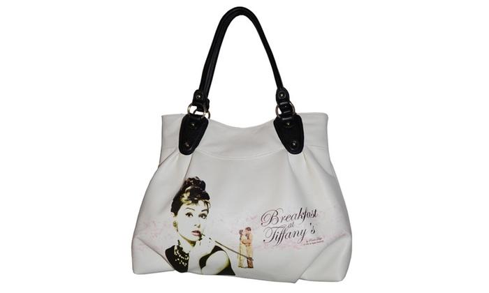 White Licensed Breakfast at Tiffany Handbag