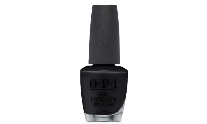 Up To 19% Off on OPI Black Onyx Nail Polish, 1... | Groupon Goods