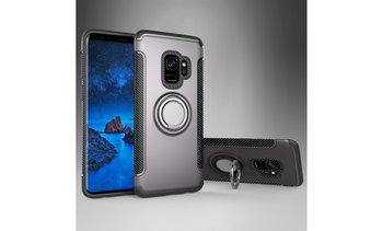 For Samsung Galaxy S9/S9 Plus Ring Holder Shockproof Rugged Case