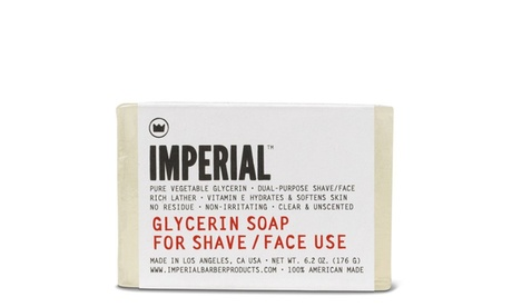 Imperial Barber Glycerin Bar Shave/Face Soap a2106cf7-63d9-47ff-ae8f-9126763727fb