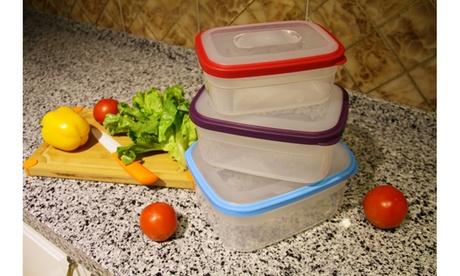 6-Piece BPA Free Multi-Color Food Storage Container Set 279e19ac-9699-4871-a10b-b82f5ad42ad7