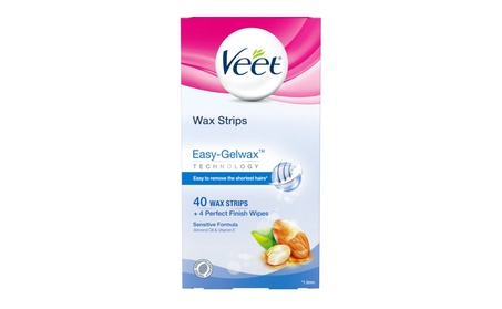 Veet Leg and Body Hair Remover Cold Wax Strips, 40 ct 84c6a074-bc9d-4ffa-bdf4-51d5086a6d1d