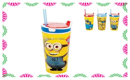 Unique 2 in 1 Snack & Drink Cup Great For Travel a2b9d67e-eb32-4eab-bc71-10d5c2b15c40