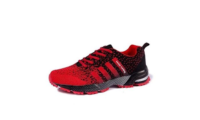 Lukisy Men's Sports Air Cushioning Jogging Walking Running Shoes