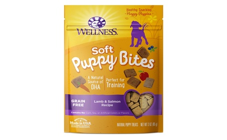 Wellness Puppy Bites Natural Grain Free Puppy Training Treats f3645708-9eed-41f2-9f33-3e454dc44aeb