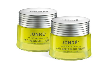 Jonre Face Moisturizer Dry Skin Anti Wrinkle Cream Antiaging 1.7oz 2pk
