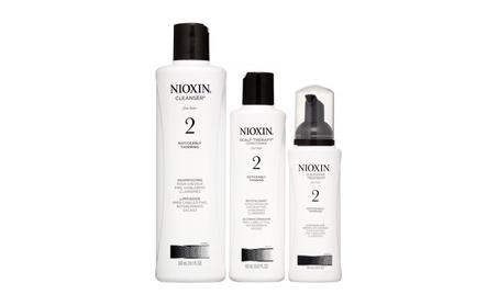Nioxin System 2 Start Kit, 3 Piece Set 16a94189-614c-4faa-9e06-f8ff76b911c9