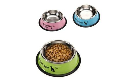 Pet Food Feeding Bowl Anti-skid Pet Dog Cat Food Water Bowl 4dbd7c34-e5f5-4c83-aea2-30bfa718a792