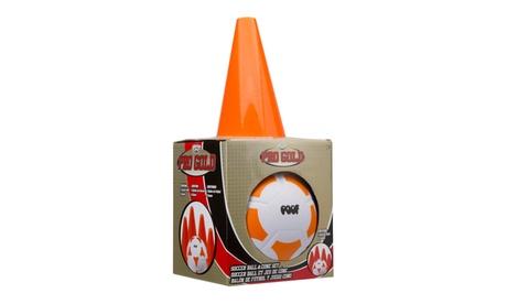 Pro Gold Soccer Ball & Cone Set 58bee6ad-f22f-4761-90e9-eb7c2f8bddb4