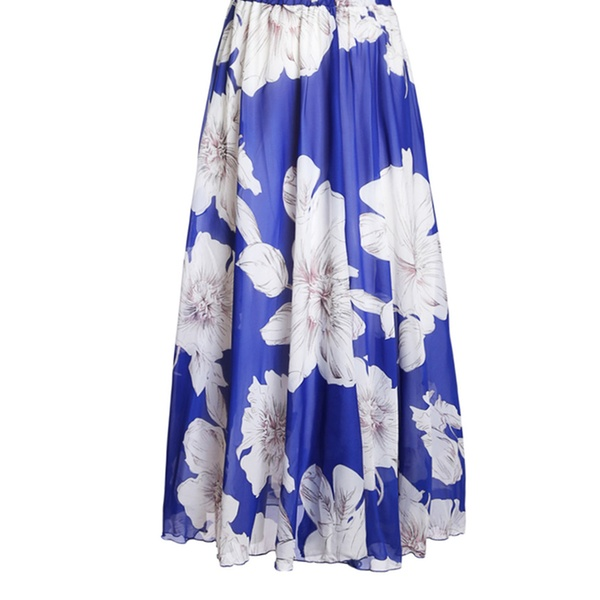 75e6d0967 Up To 69% Off on Women's Floral Chiffon Maxi S... | Groupon Goods