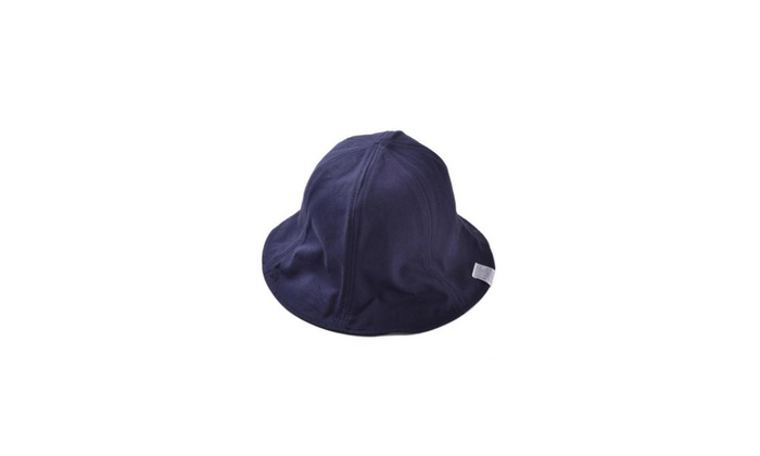 Women's Ornament Floppy Brim Single Layer Bucket Hat