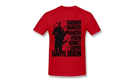 Walking Dead Christmas Holiday Thanksgiving Holiday Ugly Men's T-shirt 04b4a362-65c7-439f-a5c7-cb9bb698d749