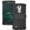 Heavy Duty Armor Stand Protective Hybrid Case Cover For LG V10