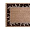 Palm Fibre PLM 17391 Greek Key Coir Door Mat - 24 x 36 in.