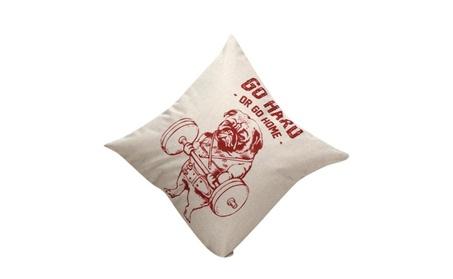 Cute Little Animal Square Decorative Throw Pillow Cushion 937022ba-a91d-4af0-a572-5f24f0efe820