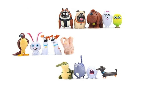 14pcs Figures Secret Pets PVC Movie Toy Collection Gift Cake toppers 7691f991-46a8-4417-96d6-abebd6318763